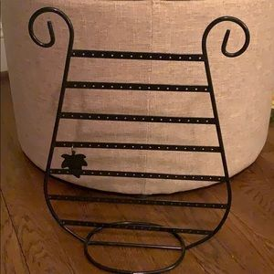 Other - Earring and necklace metal organizer